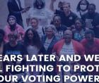 NAACP, ACLU, AFSCME, AFL-CIO and NEA spoke about the urgent necessity to protect the voting rights of African-Americans and othe