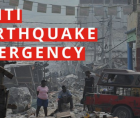 Nearly 1,300 people are now confirmed dead in Haiti from Saturday's devastating 7.2 earthquake