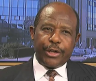 Paul Rusesabagina, whose story of sheltering Tutsis from machete-wielding Hutu militiamen was turned into the Hollywood film Hot