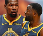 Kevin Durant and Draymond Green both blamed Golden State Warriors coach Steve Kerr and team