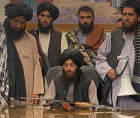 collapse of the Afghan government following the seizure of power by the Taliban