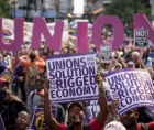 """""""This year, as Americans celebrate Labor Day, let us reflect on the contributions that working people and organized labor have m"""