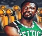 Wherever Bill Russell goes, he is a walking monument to the history of basketball