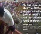 massacre of more than 150 people and the rape of dozens of women in a Guinea stadium on 28 September 2009