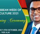 Caribbean Week of Agriculture (CWA) gets underway 4 October 2021.