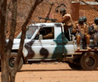 Suspected jihadists killed 14 soldiers in an attack in northern Burkina Faso on Monday,