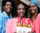 Alice and Alicia Crowe are identical twin lawyers turned sauce-entrepreneurs