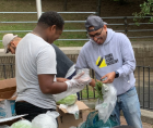 Bronx Rising Initiative yesterday launched a food insecurity initiative