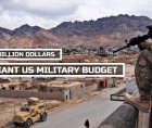 annual increases in military spending and the latest lethal weapons.