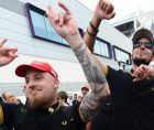 The Proud Boys immediately were thrilled at Trump's statement.