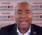 Harrison's campaign said Sunday that the total was the largest-ever during a single three-month period by any Senate candidate.