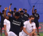Black Players for Change, a group of Major League Soccer players, has teamed up with the LeBron James-led nonprofit More Than A