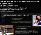 TUNE IN TO BLACK STAR NEWS SHOW ON WBAI 99.5 FM OCT 20 @ 3PM Eastern Standard Time.