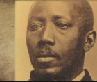 Martin Robison Delany (1812-1885) was an African American abolitionist, the first African-American Field Officer in the U.S Army