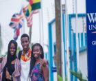 Although not an HBCU in the traditional sense, Webster University Ghana,