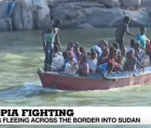 As many as 27,000 refugees have arrived in Sudan, with 4,000 more crossing from Ethiopia every day.