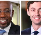Georgia's two upcoming runoff races, involving Warnock and Ossoff, will decide whether Democrats control the U.S. Senate.