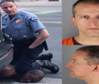 Killer-cop Derek Chauvin--shown above murdering George Floyd--is trying to get a judge to block evidence.