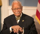 New York officials and the NAACP are remembering former New York City Mayor David Dinkins who passed away Monday at the age of 9