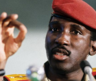 On October 15, 1987, Thomas Sankara was killed with twelve other officials in a coup d'état instigated by Blaise Compaoré,