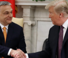 Is influence of far-right nationalists, like Donald Trump and Hungary's Prime Minister Victor Orban (show together above) recedi