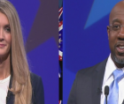 Last night Rev. Raphael Warnock and Senator Kelly Loeffler debated for one of the two Georgia runoff seats that will determine w