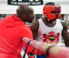 Richardson Hitchins shared details of his training camp, including pointers and motivation he received from Floyd Mayweather