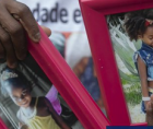 Emily Victoria Moreira dos Santos and Rebeca Beatriz Rodrigues Santos, cousins aged four and seven, were killed on Friday night