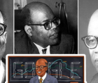Sir William Arthur Lewis is being celebrated by Google 41 years after he was awarded the Nobel Laureate Prize in economics.