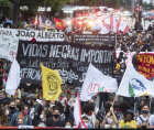 Black Brazilians are embraced in a struggle of resistance against institutional systemic state racism, like Black people in Amer