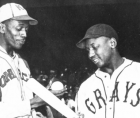 Satchel Paige and Josh Gibson above (two of the greatest, who stack up to any white Major League player) will now be recognized