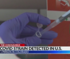 A Colorado nursing home is confirmed as having a resident who tested positive for the new strain of COVID-19.