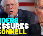 Sen. Bernie Sanders (I-Vt.) seeking up-or-down votes on two bills providing $2,000 in direct economic relief to working-class fa