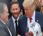 Belichick (once an enthusiastic supporter of Donald Trump) declining to accept the Presidential Medal of Freedom