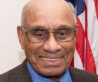 Willie O'Ree, who 63 years ago became the first Black player in the NHL