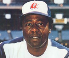 """Hall of Famer and longtime home run king Henry Louis """"Hank"""" Aaron"""