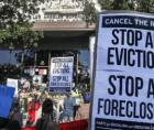 nationwide protests (they say in at least 28 cities) this weekend calling for rent cancellation