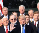 the second impeachment trial of Donald Trump started, but the Republicans Party has made it clear they aren't interested in the