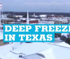 Texans helped one another get through a historic snow storm