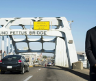 56th anniversary of Bloody Sunday and the bravery of those who marched on the Edmund Pettus Bridge for freedom--including the no