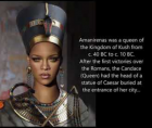 Kandake Amanirenas was a queen of the ancient African Kingdom of Kush who was best known for skillfully defending her kingdom ag