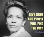 Ella Baker emerged as one of the most important women in the civil rights movement.