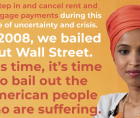 Rep. Ilhan Omar (D-MN) introduced the Rent and Mortgage Cancellation Act, a bill to institute a nationwide cancellation of rents