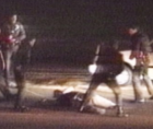 police brutality that was perpetrated upon Rodney King, that still continues in the present