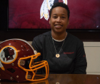 Jennifer King is making history as the first full-time Black female coach in the NFL