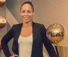as an executive with the Boston Celtics, Allison Feaster has typically displayed a calm demeanor.