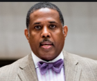 New York State Senator Kevin Parker, candidate for New York City Comptroller,
