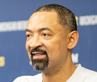 Juwan Howard, now the coach of the Michigan Wolverines, has been named AP Coach of the Year.
