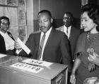 53rd anniversary of the assassination of Dr. Martin Luther King, one of the greatest patriots America ever produced.