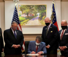 continuing fallout against the voter suppression law Georgia Republicans